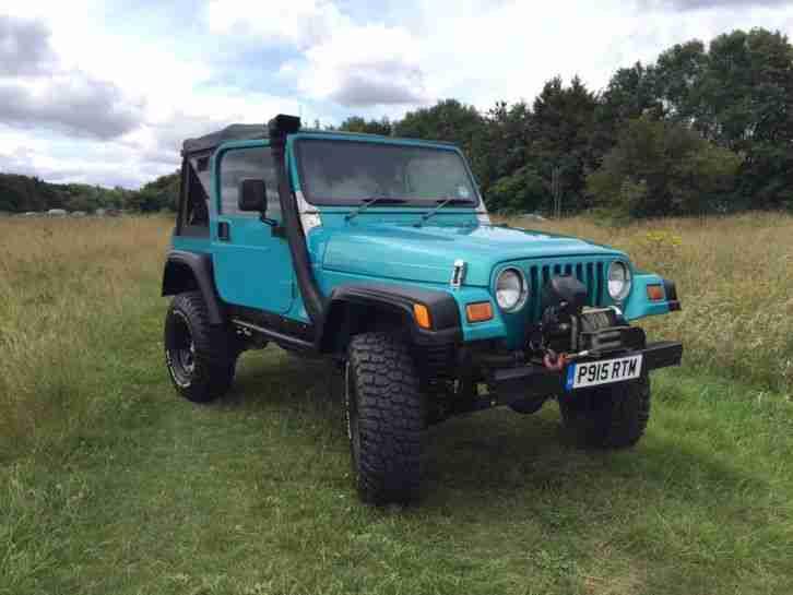 Jeep 1997 Wrangler 4 0 Sport Green  Car For Sale