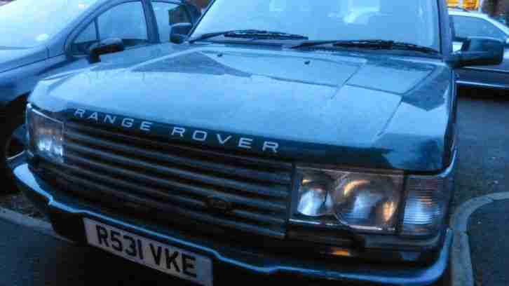 1997 LAND ROVER RANGE ROVER HSE AUTO GREEN SPARES REPAIR AUTOBIOGRAPHY