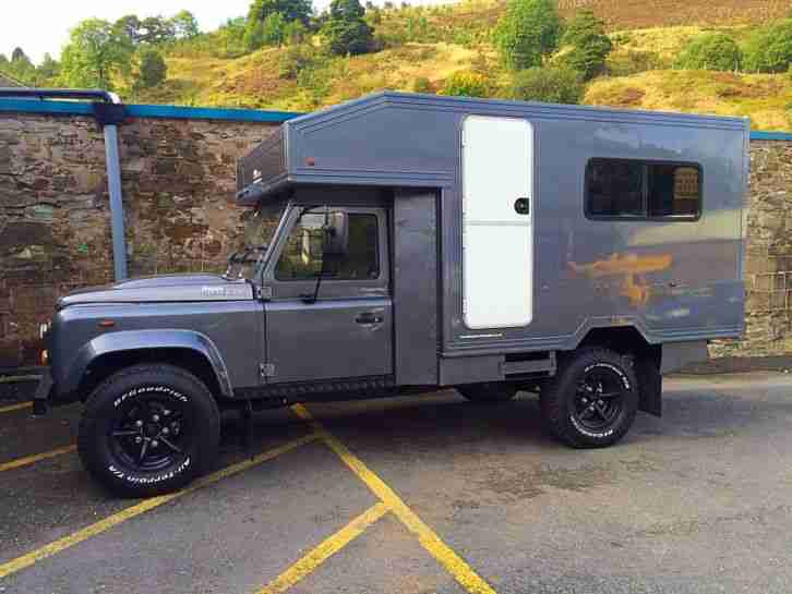 1997 Land Rover Defender 300tdi 130 Overland Camper Car