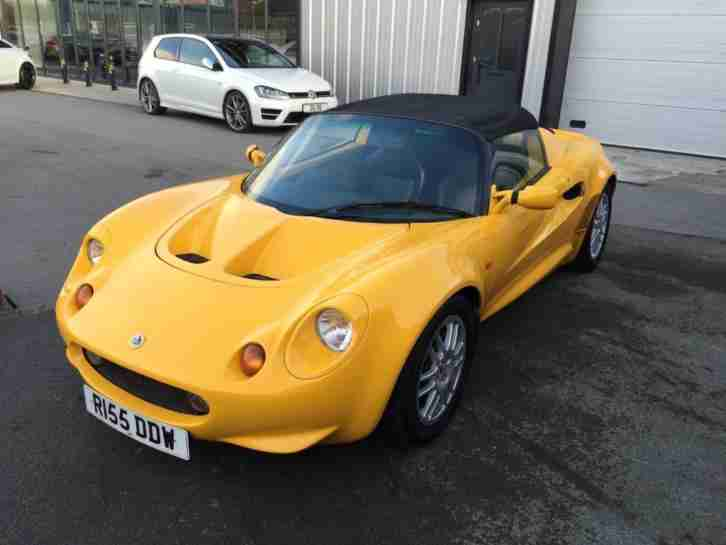 Lotus Elise. Lotus car from United Kingdom & Lotus 1997 Elise 1.8 2dr. car for sale