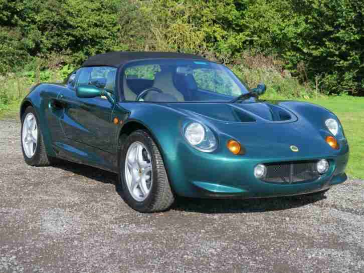 1997 Elise Series 1 Petrol green Manual