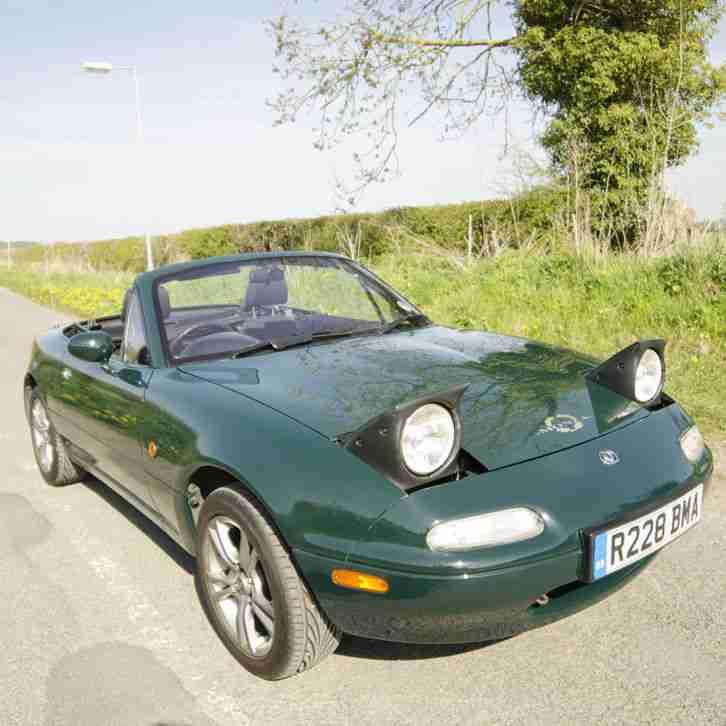 Mazda 1997 MX 5 MK1 MONZA GREEN 1.6. Car For Sale