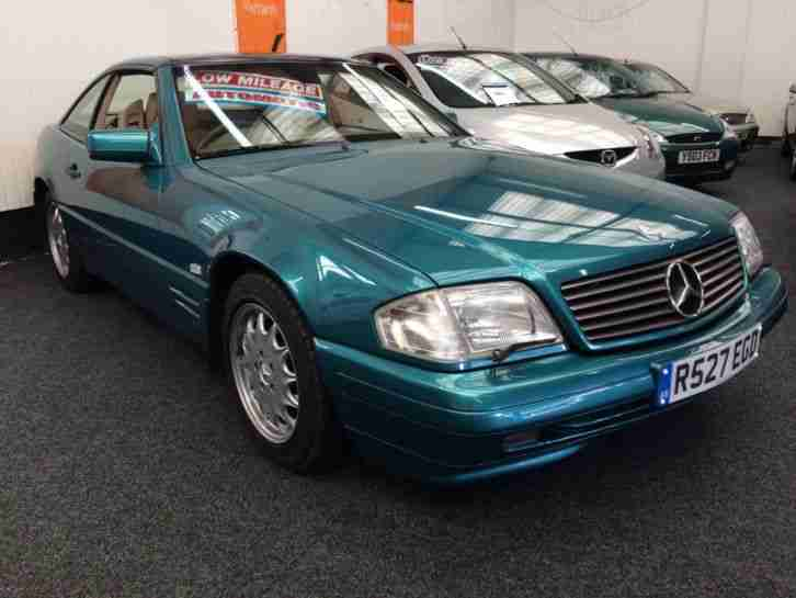 1997 mercedes benz sl series sl320 auto car for sale for Mercedes benz sl320 for sale