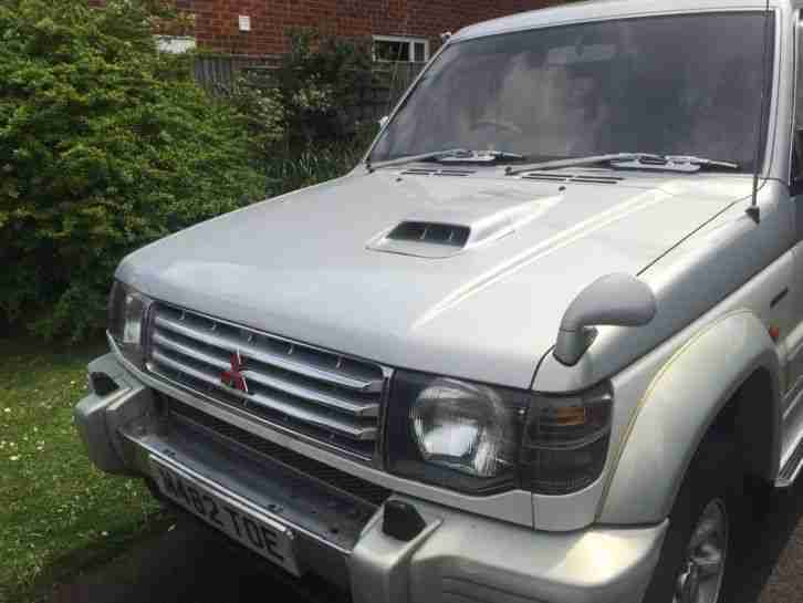 Mitsubishi PAJERO. Mitsubishi car from United Kingdom