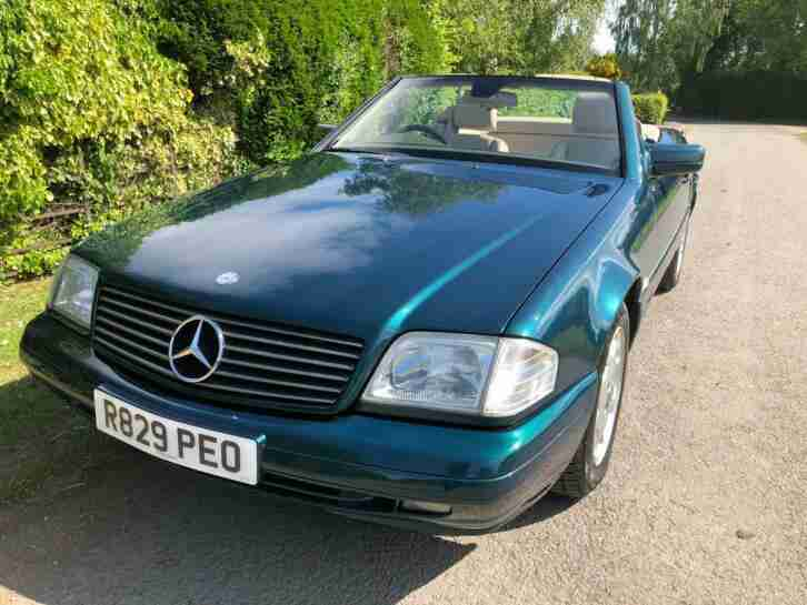 1997 Merc 280SL R129 convertible, 76,800 miles beautiful condition beautiful car
