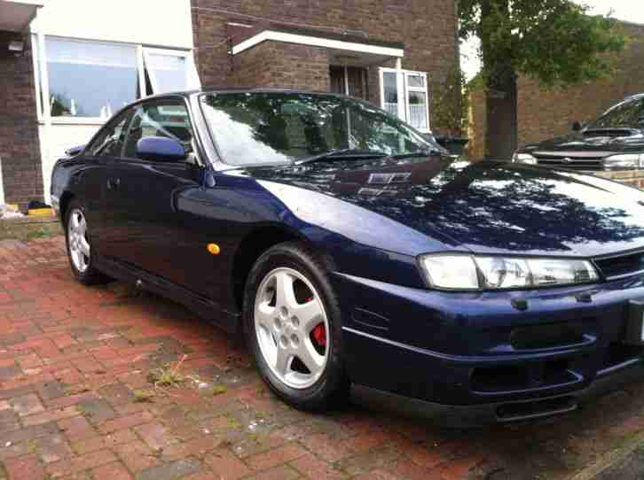 1997 NISSAN 200 SX TOURING BLUE