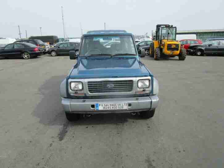 1997 (P) DAIHATSU FOURTRACK RIVIERA TDX 2.8 DIESEL TAKEN IN PART EX HPI CLEAR