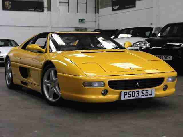 1997 P Reg Ferrari F355 3.5 GTS Manual