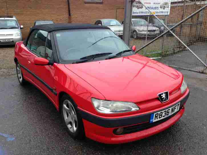 1997 R Reg 306 2.0 Red Cabriolet