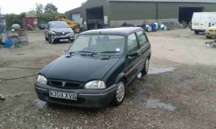 1997 ROVER 100 ASCOT ONLY 45K 1 OWNER NEW FUTURE CLASSIC METRO SPARES OR REPAIR