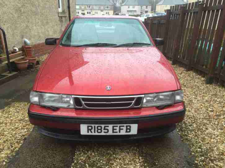 1997 SAAB 9000 CSE TURBO AUTO RED