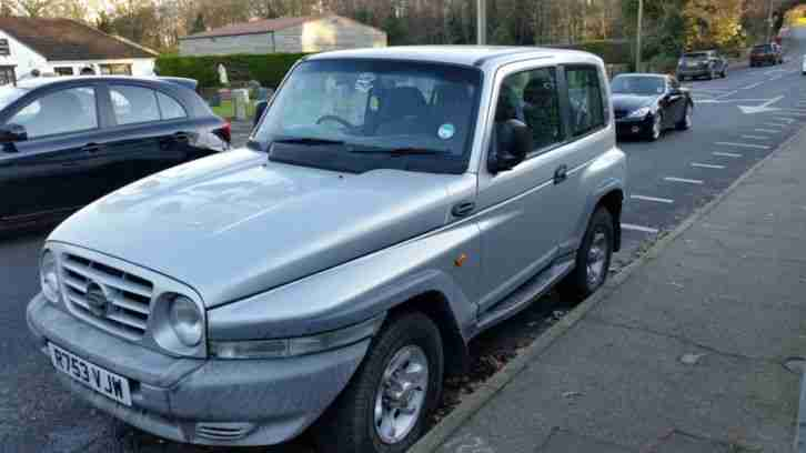 Ssangyong 1997 KORANDO GLS SILVER 4x4. car for sale