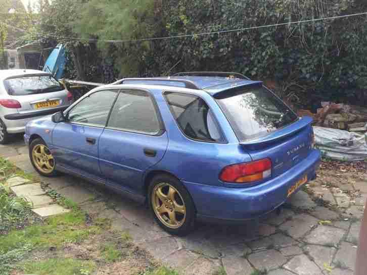 Subaru 1997 Impreza Turbo 2000 Awd Blue Car For Sale