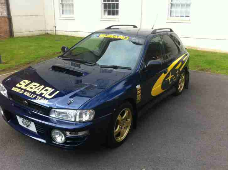 subaru 1997 impreza wagon wrx blue no swap or px car for sale. Black Bedroom Furniture Sets. Home Design Ideas