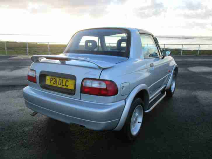 "1997 SUZUKI X-90 1.6 16v FINISHED IN SILVER-IDEAL ""SURF DOOD"" VEHICLE,T-BAR ROOF"