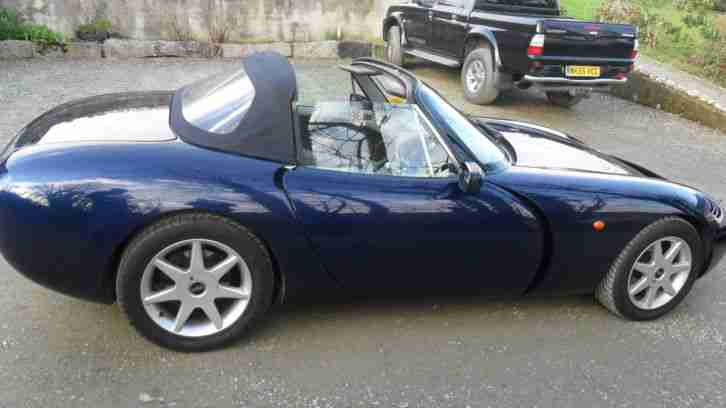 tvr 1997 griffith blue car for sale. Black Bedroom Furniture Sets. Home Design Ideas
