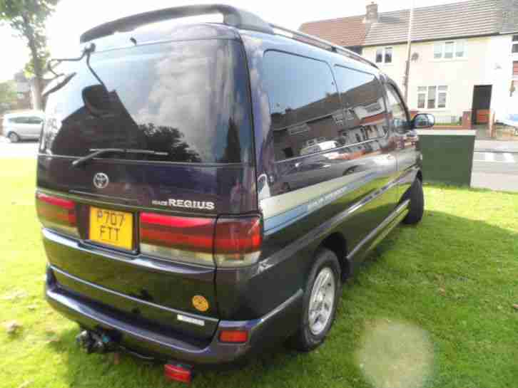 1997 Toyota Hiace Regius, 8 SEATER, ONLY 78,000 Miles FREE DELIVERY
