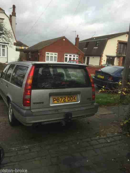 Volvo 1997 850 T5 Glt Auto Silver Barn Find Long Time