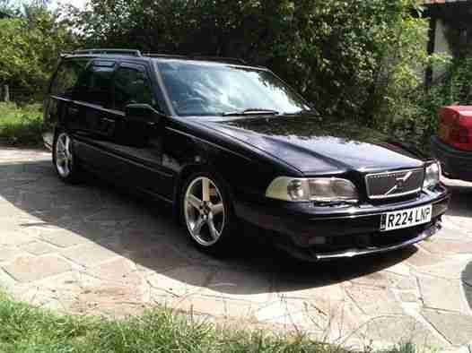 Volvo 1997 V70 R Awd Black Automatic Car For Sale