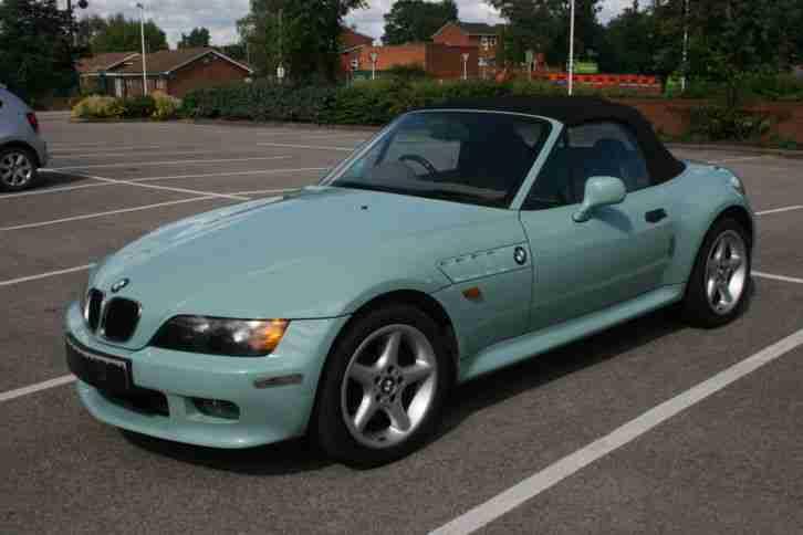 Bmw 1998 Z3 Green Car For Sale