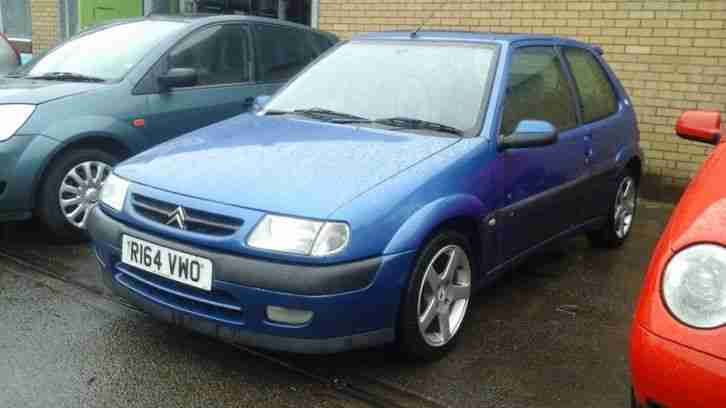 citroen 1998 saxo vts blue car for sale. Black Bedroom Furniture Sets. Home Design Ideas