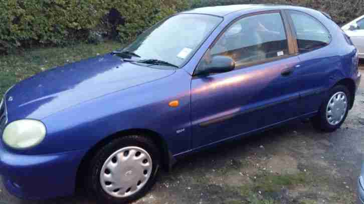 1998 LANOS SX BLUE FOR SPARES OR