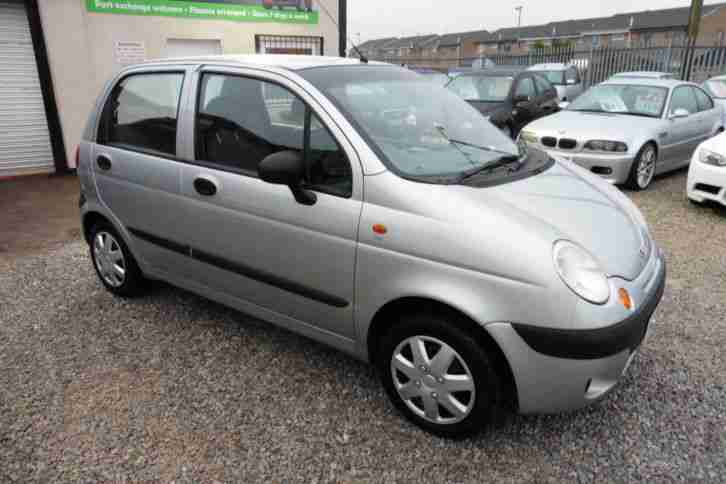 1998 DAEWOO MATIZ 0.8 SE 5 DOOR IN SILVER