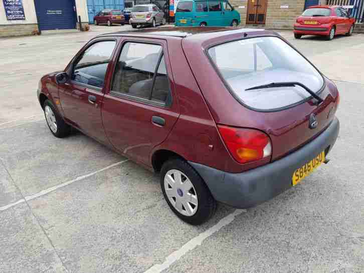 1998 Ford Fiesta Finesse 12 Month MOT, Excellent Condition Only 61k