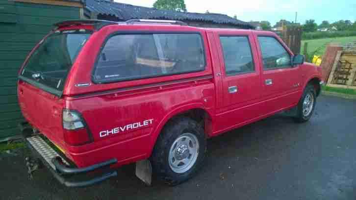 Isuzu 1998 Kb Red 28 Turbo Diesel 4x4 Truck Cab Chevrolet Luv Car