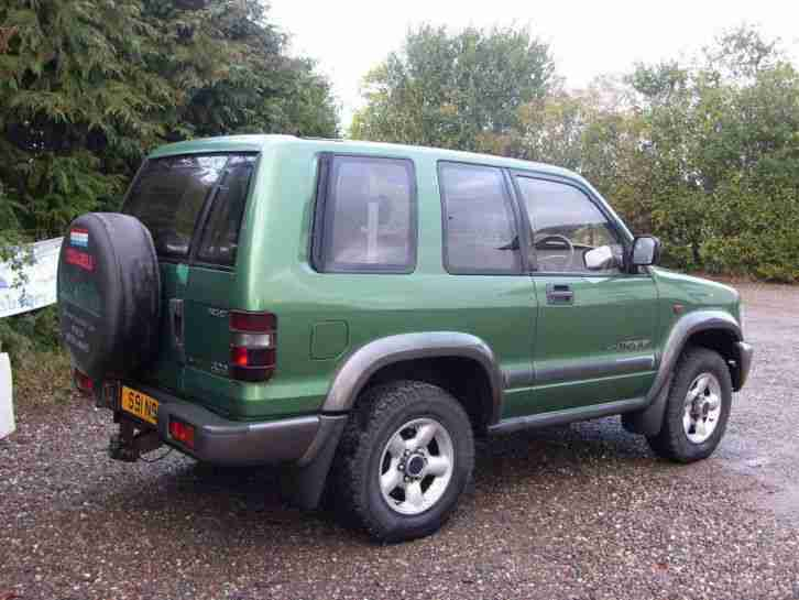 1998 Isuzu Trooper 3.0 TD Duty 3dr 3 door Estate