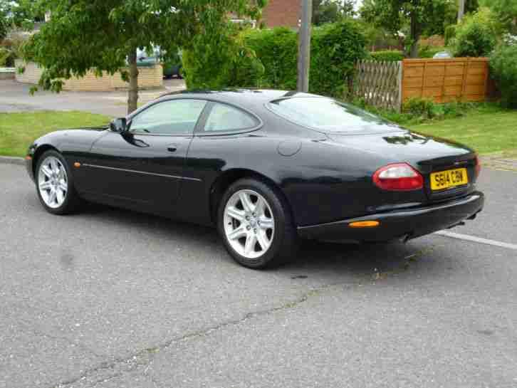 jaguar 1998 xk8 4 0 v8 coupe auto metallic black long mot car for sale. Black Bedroom Furniture Sets. Home Design Ideas