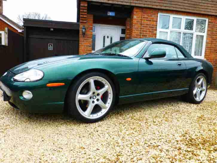 jaguar 1998 xk8 convertible auto british racing green 20 bbs car for sale. Black Bedroom Furniture Sets. Home Design Ideas
