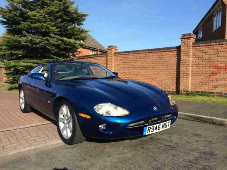 jaguar 1998 xk8 coupe auto blue px possible car for sale. Black Bedroom Furniture Sets. Home Design Ideas