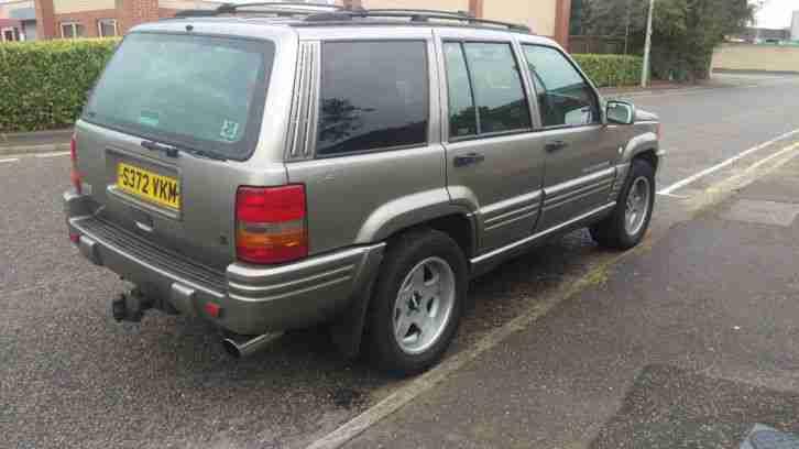 Jeep 1999 Grand Cherokee Limited 4x4 V8 Bronze Petrol Lpg