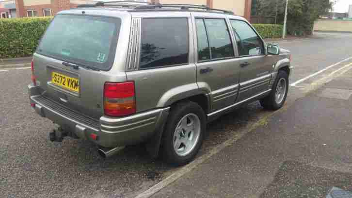 1998 JEEP GRAND CHEROKEE ZJ 4.0 ORVIS AUTOMATIC SILVER LPG