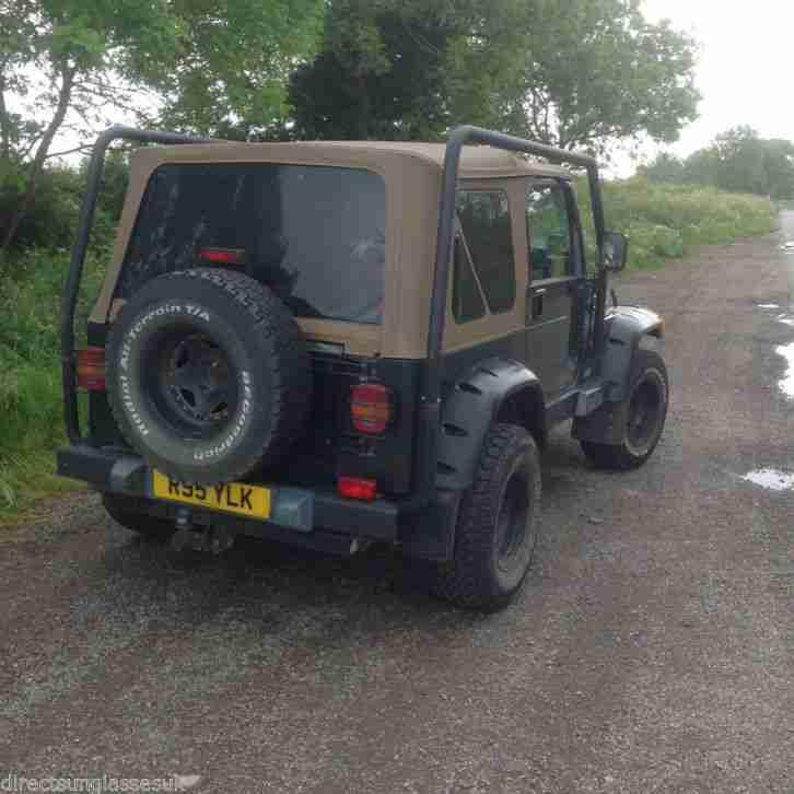 Jeep 1998 WRANGLER 4.0 SAHARA GREEN AUTOMATIC ONLY 70,000