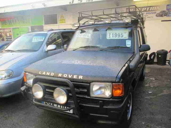 1998 land rover discovery 300 tdi auto gs black car for sale. Black Bedroom Furniture Sets. Home Design Ideas