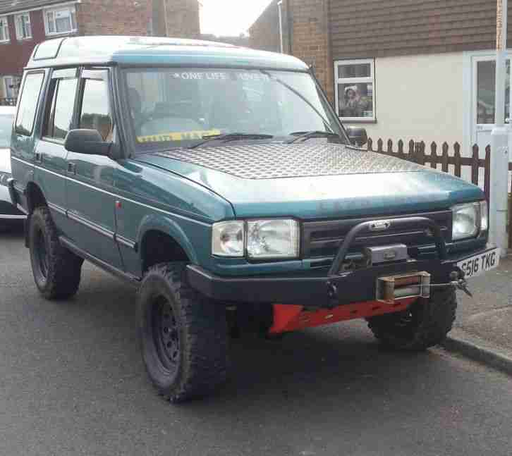 1998 LAND ROVER DISCOVERY BLUE. Car For Sale