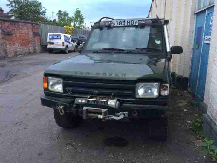 1998 LAND ROVER DISCOVERY TDI GREEN