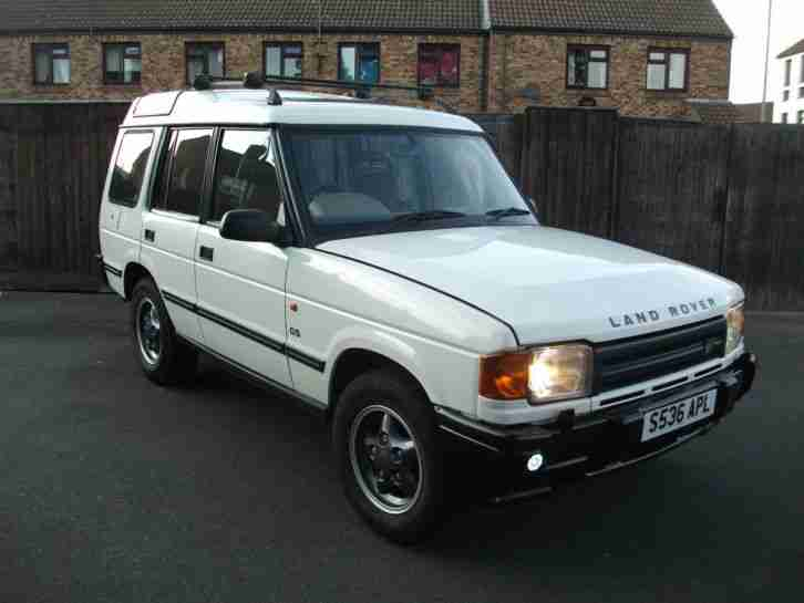 1998 land rover discovery tdi white car for sale. Black Bedroom Furniture Sets. Home Design Ideas