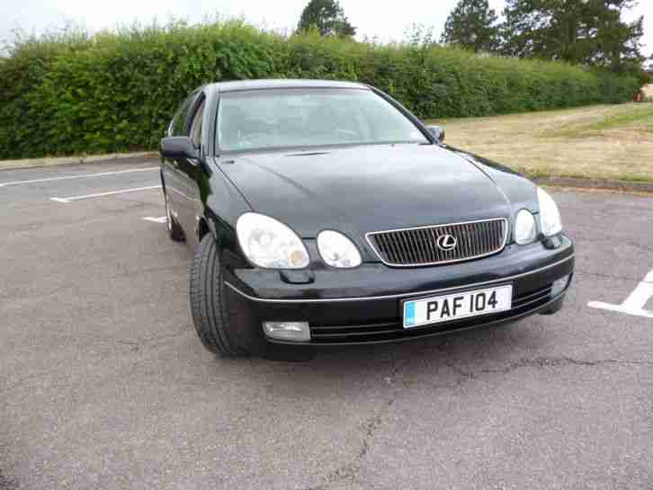 lexus 1998 gs300 se auto black car for sale. Black Bedroom Furniture Sets. Home Design Ideas