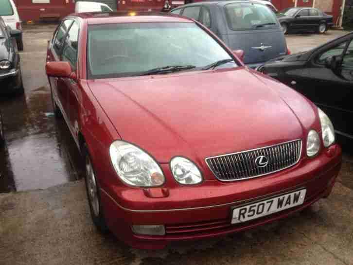 lexus 1998 gs300 se auto red r reg very clean car car for sale. Black Bedroom Furniture Sets. Home Design Ideas