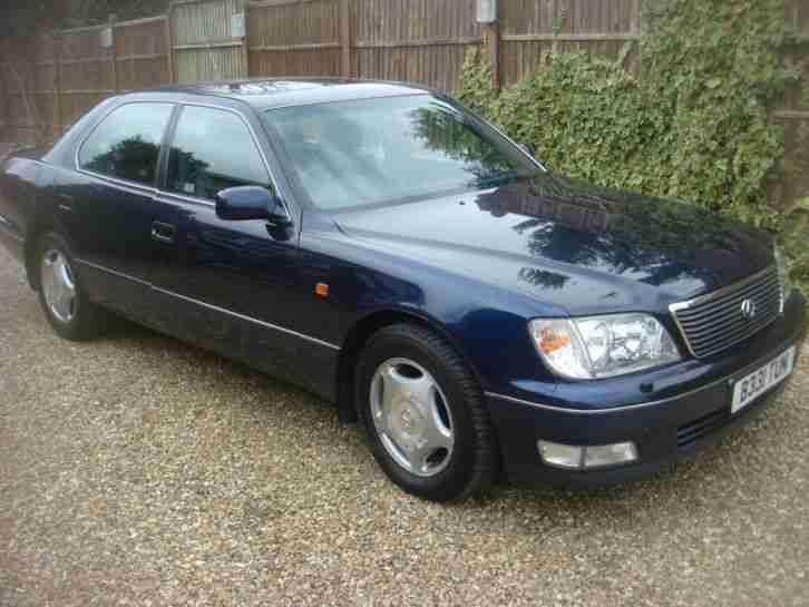 lexus 1998 ls400 blue car for sale. Black Bedroom Furniture Sets. Home Design Ideas