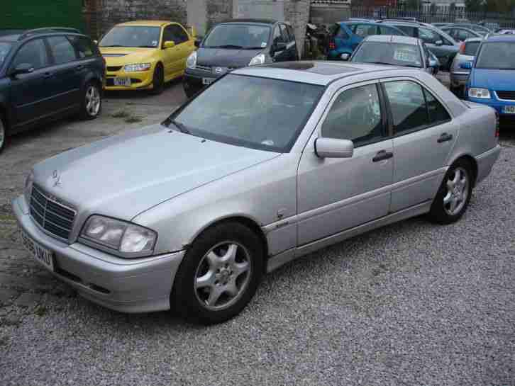 Mercedes benz 1998 c230 kompressor 2 3 sport for spares or for Spares for mercedes benz