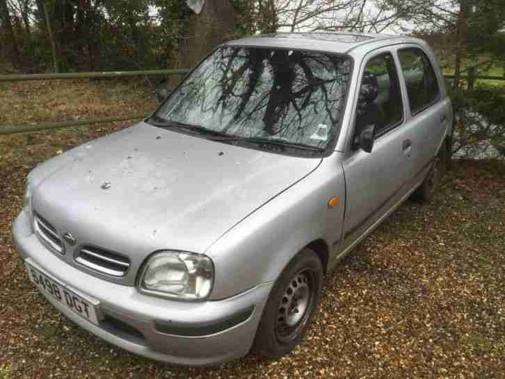 nissan 1998 micra ally silver car for sale. Black Bedroom Furniture Sets. Home Design Ideas