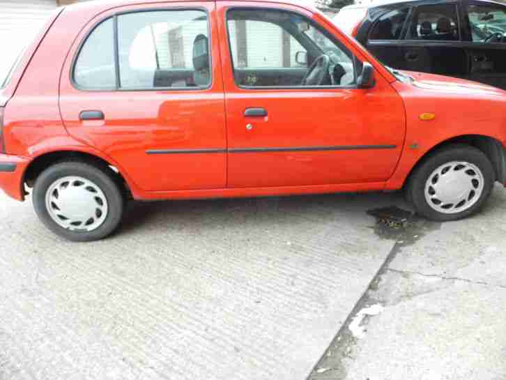 nissan 1998 micra equation auto red car for sale. Black Bedroom Furniture Sets. Home Design Ideas