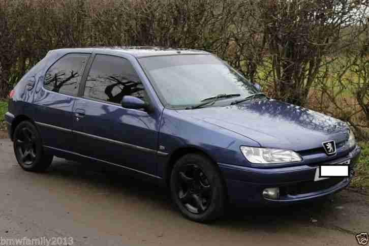 Peugeot 1998 306 Xsi Blue Modified Very Fast Car Clean