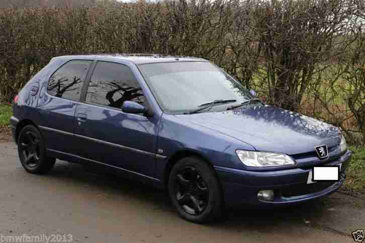 1998 PEUGEOT 306 XSI BLUE MODIFIED VERY FAST CAR ;-) CLEAN CONDITION CHEAP CAR