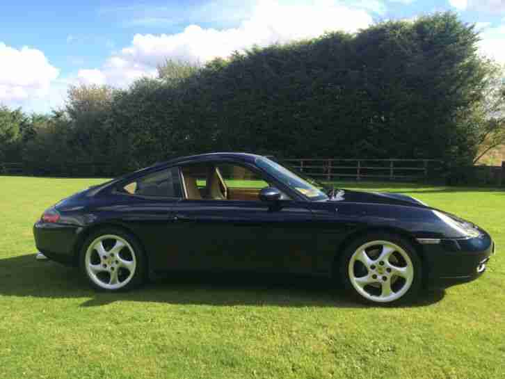 1998 PORSCHE 911 CARRERA TIPTRONIC S BLUE