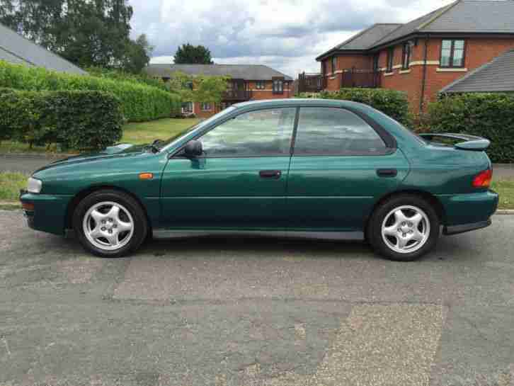 1998 [R] SUBARU IMPREZA WRX UK TURBO 4WD GREEN 1 OWNER FROM NEW